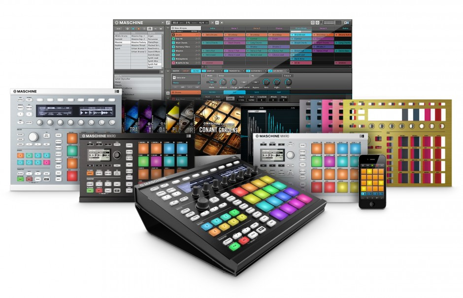NI_Maschine_Family